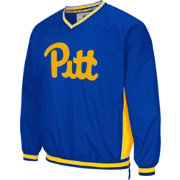 Colosseum Athletics Men's Pittsburgh Panthers Retro Blue/Gold Fair Catch Windbreaker