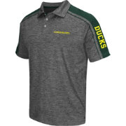 Chiliwear Men's Oregon Ducks Grey Birdie Polo