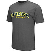 Colosseum Athletics Men's Oregon Ducks Grey Classic T-Shirt