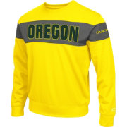 Colosseum Athletics Men's Oregon Ducks Yellow Defender Crew