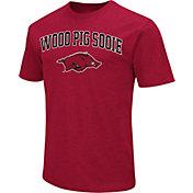 Colosseum Athletics Men's Auburn Tigers Blue Team Slogan T-Shirt