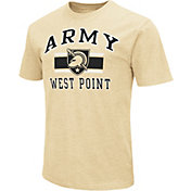 Colosseum Men's Army Black Knights Gold Dual-Blend T-Shirt