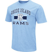 Colosseum Men's Rhode Island Rams Blue Dual Blend T-Shirt