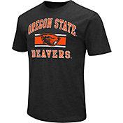Colosseum Athletics Men's Oregon State Beavers Black Dual-Blend T-Shirt