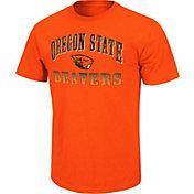 Colosseum Athletics Men's Oregon State Beavers Orange Contour T-Shirt