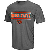 Colosseum Athletics Men's Oregon State Beavers Grey Matrix T-Shirt