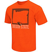 Colosseum Athletics Men's Oregon State Beavers Orange State of the Union T-Shirt