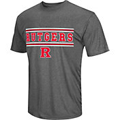 Colosseum Athletics Men's Rutgers Scarlet Knights Grey Matrix T-Shirt