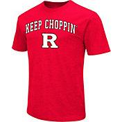Colosseum Men's Rutgers Scarlet Knights Scarlet Team Slogan T-Shirt