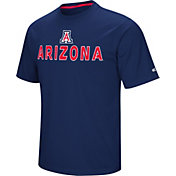 Colosseum Athletics Men's Arizona Wildcats Navy Pique Performance T-Shirt