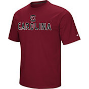 Colosseum Athletics Men's South Carolina Gamecocks Garnet Pique Performance T-Shirt