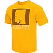 Colosseum Athletics Men's Arizona State Sun Devils Gold State of the Union T-Shirt