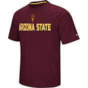 Colosseum Athletics Men's Arizona State Sun Devils Maroon Pique Performance T-Shirt