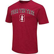 Colosseum Men's Stanford Cardinal Cardinal Team Slogan T-Shirt