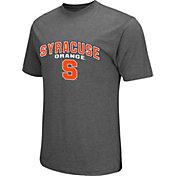 Colosseum Athletics Men's Syracuse Orange Grey Classic T-Shirt