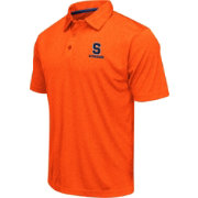 Colosseum Men's Syracuse Orange Orange Heathered Performance Polo