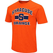 Colosseum Men's Syracuse Orange Orange Dual-Blend T-Shirt