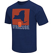 Colosseum Athletics Men's Syracuse Orange Blue State of the Union T-Shirt