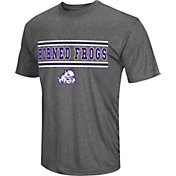 Colosseum Athletics Men's TCU Horned Frogs Grey Matrix T-Shirt