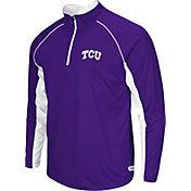 Colosseum Athletics Men's TCU Horned Frogs Purple Airstream Quarter-Zip Windshirt