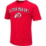 Colosseum Men's Utah Utes Crimson Team Slogan T-Shirt