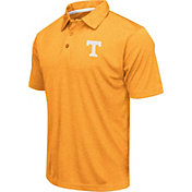 Colosseum Athletics Men's Tennessee Volunteers Tennessee Orange Heathered Performance Polo