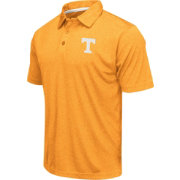 Colosseum Men's Tennessee Volunteers Tennessee Orange Heathered Performance Polo