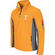 Colosseum Men's Tennessee Volunteers Tennessee Orange Quarter-Zip Plow Jacket