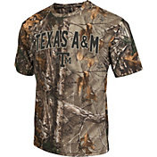 Colosseum Athletics Men's Texas A&M Aggies Camo Brow Tine T-Shirt