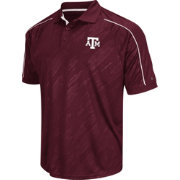Chiliwear Men's Texas A&M Aggies Maroon Sleet Performance Polo