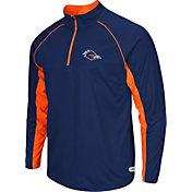 Colosseum Athletics Men's UTSA Roadrunners Blue Airstream Quarter-Zip Windshirt