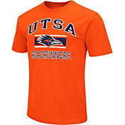 Colosseum Athletics Men's UT San Antonio Roadrunners Orange Dual-Blend T-Shirt