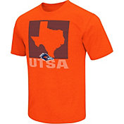 Colosseum Athletics Men's UTSA Roadrunners Orange State of the Union T-Shirt