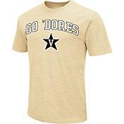 Colosseum Men's Vanderbilt Commodores Gold Team Slogan T-Shirt