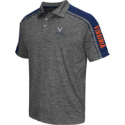 Chiliwear Men's Virginia Cavaliers Grey Birdie Polo