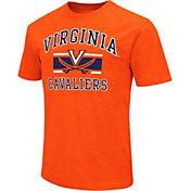 Colosseum Men's Virginia Cavaliers Orange Dual-Blend T-Shirt