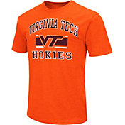 Colosseum Athletics Men's Virginia Tech Hokies Orange Dual-Blend T-Shirt