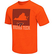 Colosseum Men's Virginia Tech Hokies Orange State of the Union T-Shirt
