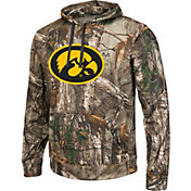Colosseum Athletics Men's Iowa Hawkeyes Camo Breech Pullover Hoodie