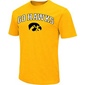 Colosseum Men's Iowa Hawkeyes Gold Team Slogan T-Shirt