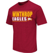Colosseum Athletics Men's Winthrop Eagles Garnet Dual-Blend T-Shirt
