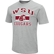 Colosseum Athletics Men's Washington State Cougars Grey Dual-Blend T-Shirt