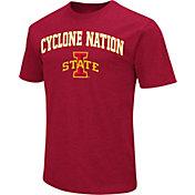 Colosseum Men's Iowa State Cyclones Cardinal Team Slogan T-Shirt