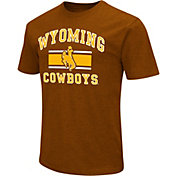 Colosseum Men's Wyoming Cowboys Brown Dual Blend T-Shirt
