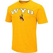 Colosseum Athletics Men's Wright State Raiders Green Team Slogan T-Shirt