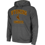 Colosseum Athletics Men's Wyoming Cowboys Grey Performance Hoodie