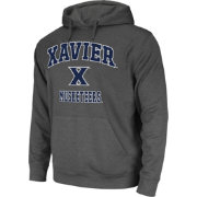 Colosseum Athletics Men's Xavier Musketeers Grey Performance Hoodie