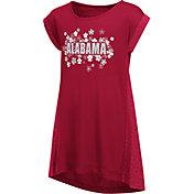 Colosseum Athletics Girls' Alabama Crimson Tide Crimson Toddler Daisy Dress