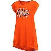 Colosseum Athletics Girls' Syracuse Orange Blue Toddler Daisy Dress