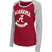 Colosseum Athletics Women's Alabama Crimson Tide Crimson Healy Long Sleeve Shirt